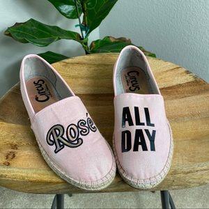 "Sam Edelman Leni ""Rosé All Day"" Espadrille Flats 8"